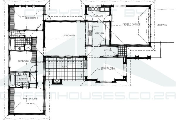 Free south african house plans pdf for Pre drawn house plans