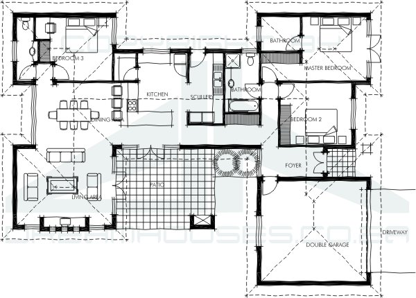 House plans south africa for Africa house plans