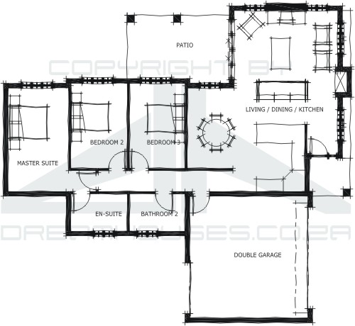 Town house plans for Townhouse layout 3 bedrooms