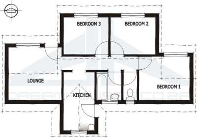 Free rdp house plans house plans for Economic house plans south africa