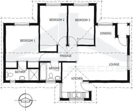 Free South African House Plans Pdf on modern small house floor plans