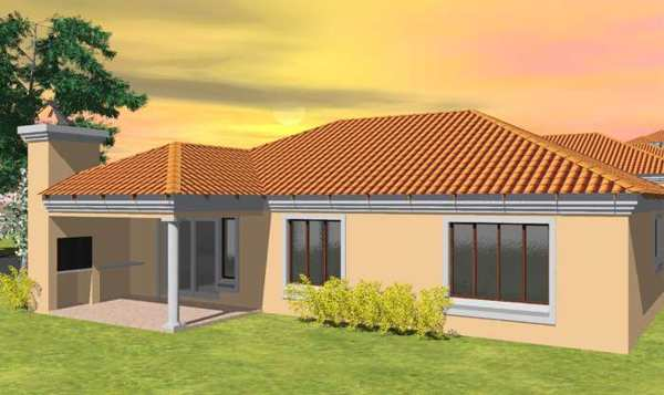 Tuscan house plans south africa for Home design za