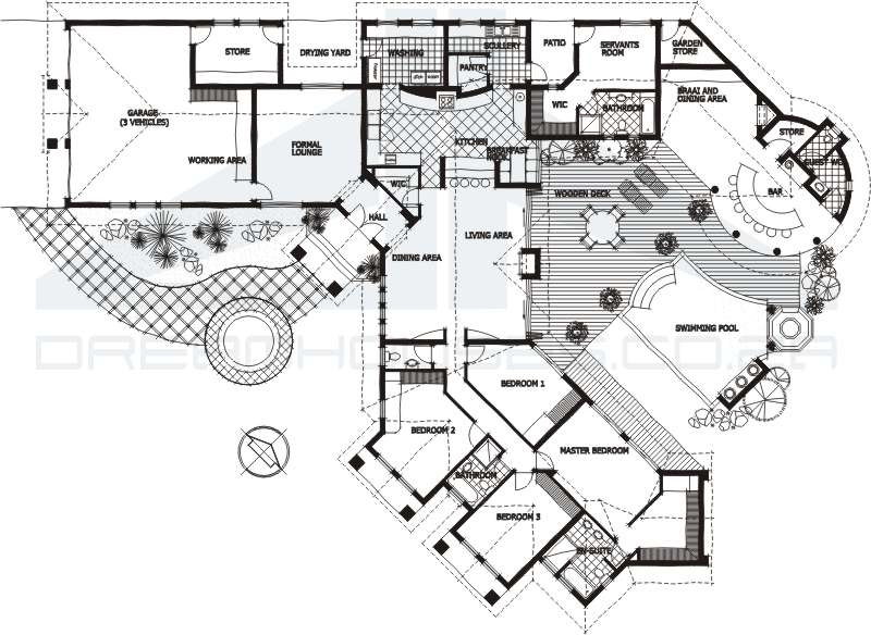 House plans and design house plans south africa pdf for African house plans