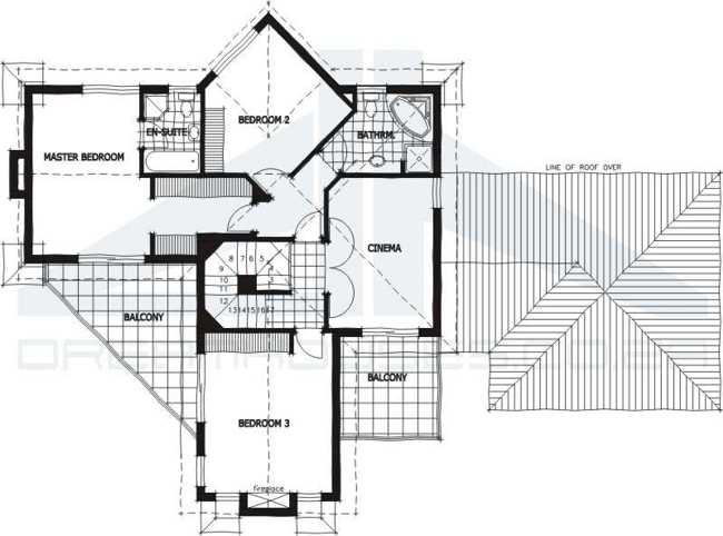 ALTERNATIVE HOUSE PLANS AND HOME PLANS - Modern Architect Designed