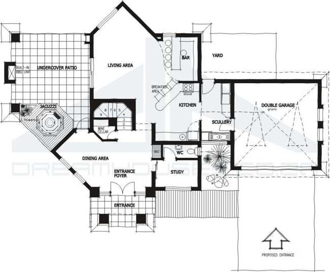 Jon 4 Bedroom House Plans South Africa