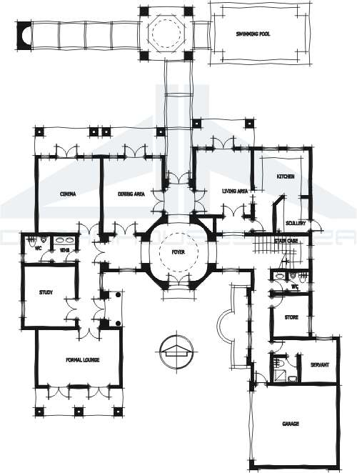 Arabian house plans Create house floor plans free
